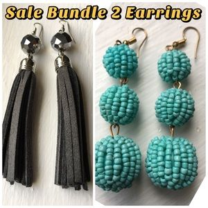 SALE 2 earrings for very low price NWOT